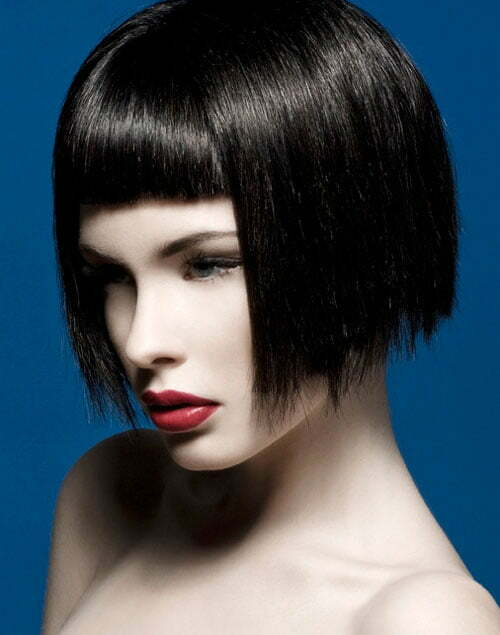 10 Short Straight Haircuts Of 2012