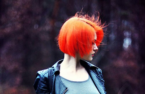 Best short straight red hairstyles