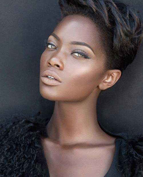 Short trendy haircuts for black women