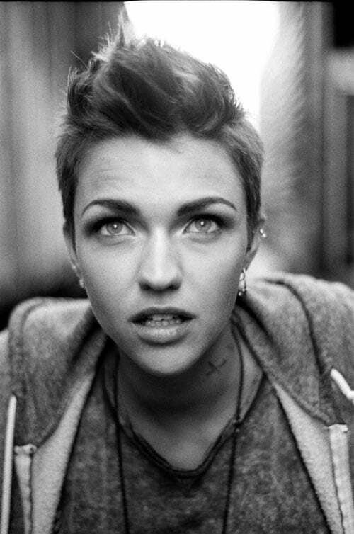 Ruby Rose pixie hairstyle