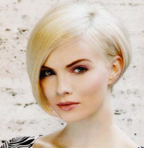 Pictures of short tapered bob haircuts