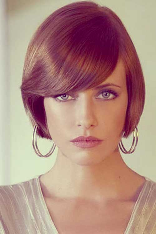 Tapered bob haircut pictures