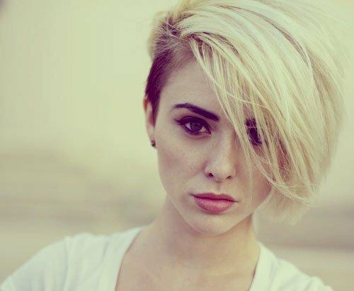 Short undercut hair women