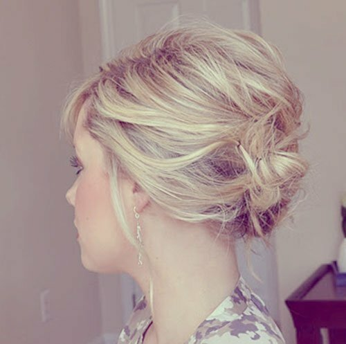 Short wedding hair updos pictures