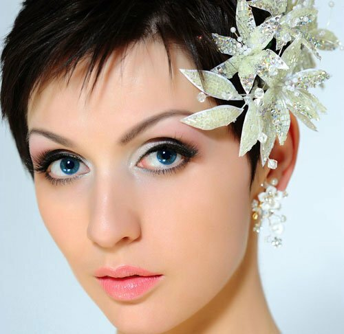 Pixie Hairstyles For Wedding: Short Hairstyles 2018 - 2019