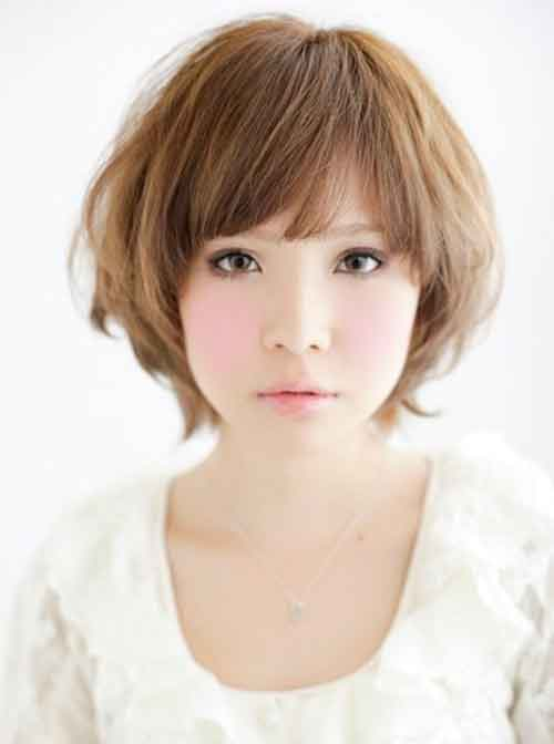 2013 Short Asian Hairstyle for Women