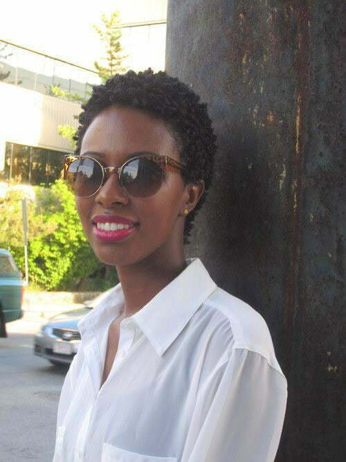 25 Short Haircuts for Black Women-7