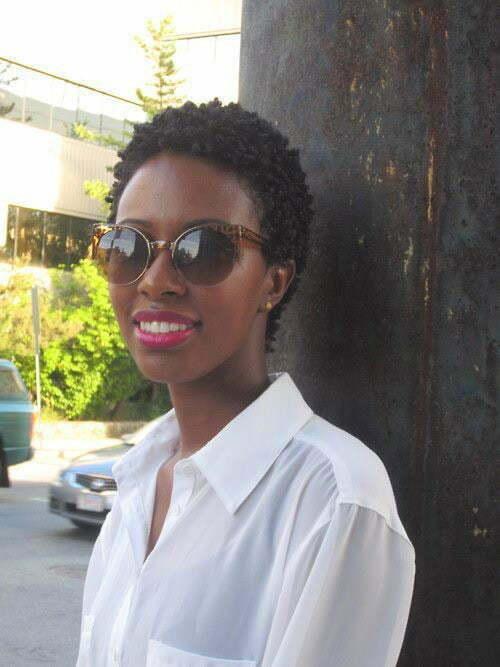 25 Short Haircuts for Black Women-7