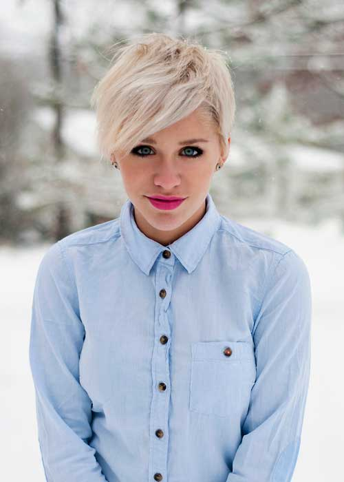 35 Short Blonde Haircuts 2013-10