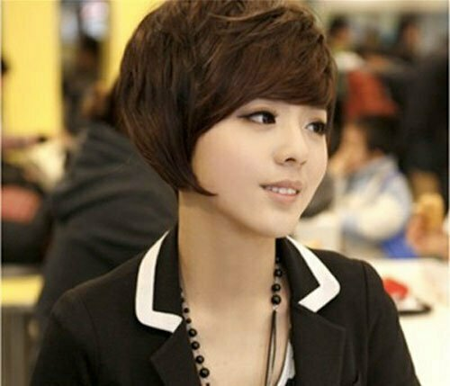 Asian Short Hairstyles for Women-1