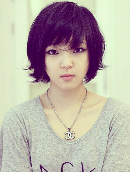 Asian Short Hairstyles for Women-4