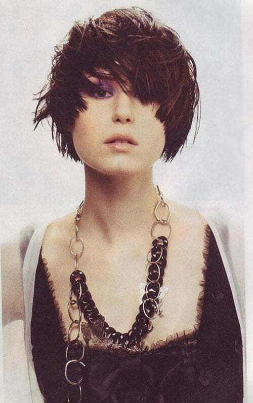 Asian Short Hairstyles for Women-5