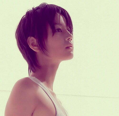 Asian Short Hairstyles for Women-6