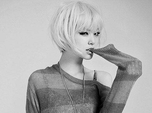 Asian Short Hairstyles for Women-8