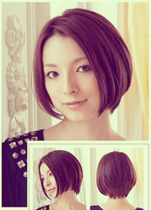 Asian Short Hairstyles for Women-9