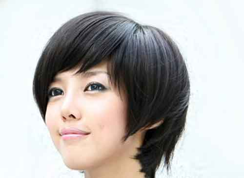Asian short straight hairstyles