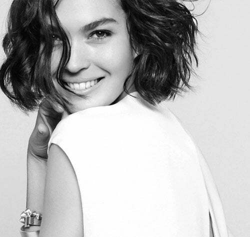 Short asymmetrical haircuts for curly hair