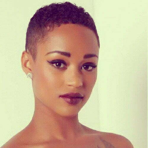 Beautiful short haircuts for black women