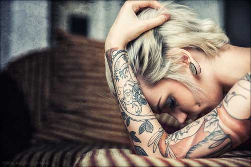 Best Short Blonde Haircuts-10