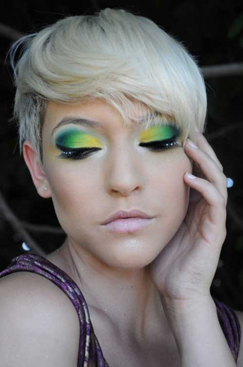 Best Short Blonde Haircuts-13