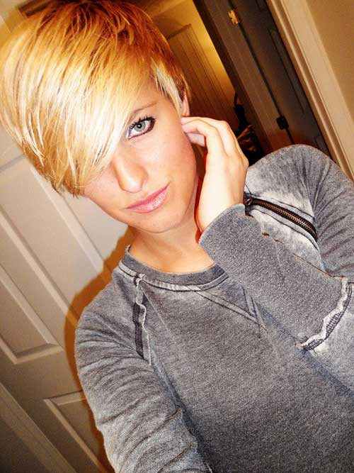Best Short Haircuts for Oval Faces-8