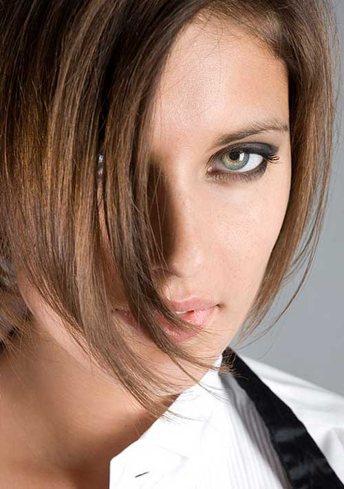 Best Short Straight Hairstyles-1