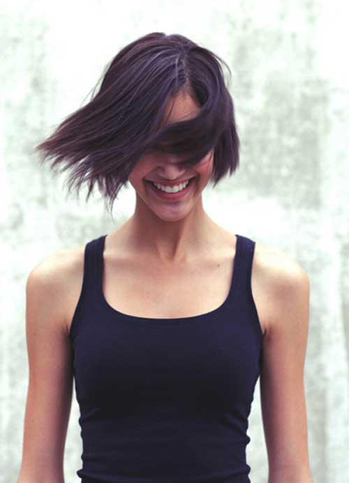 Best Short Straight Hairstyles-2
