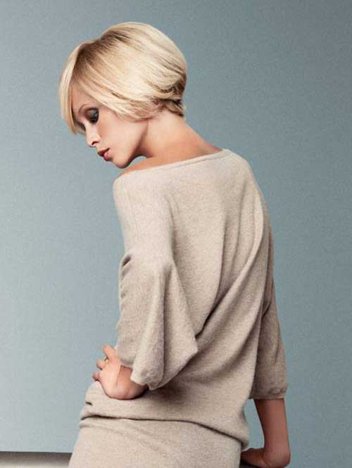Best short blonde haircuts