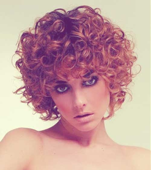 Short Curly Hairstyles For 2012 2013