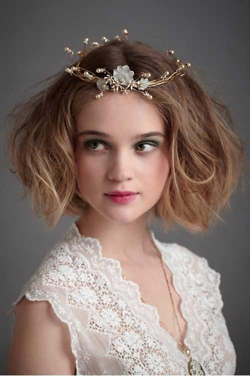 Fantastic Short Wedding Hairstyles Short Hairstyles 2016 2017 Most Short Hairstyles Gunalazisus