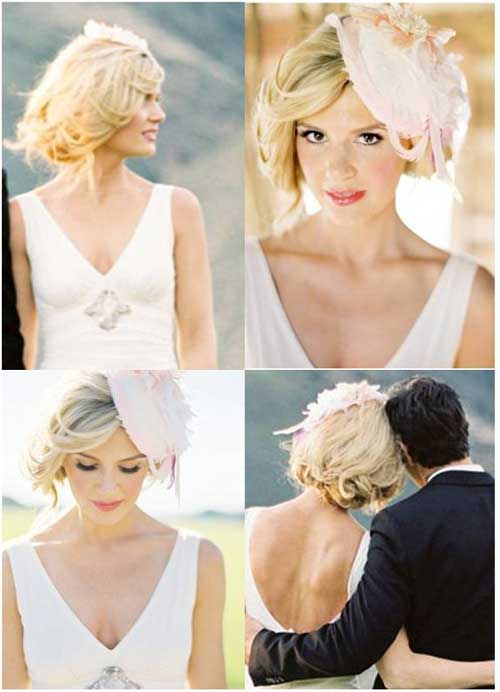 Stupendous Wedding Hairstyles Ideas For Short Hair Short Hairstyles 2016 Short Hairstyles For Black Women Fulllsitofus