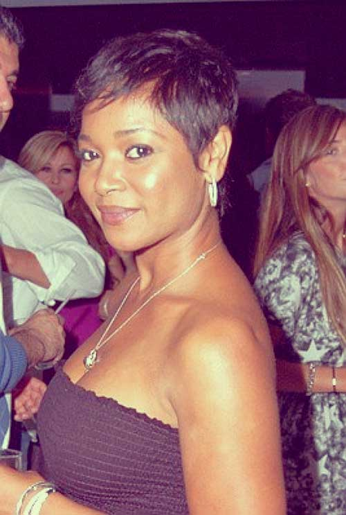 Tamala Jones short haircut