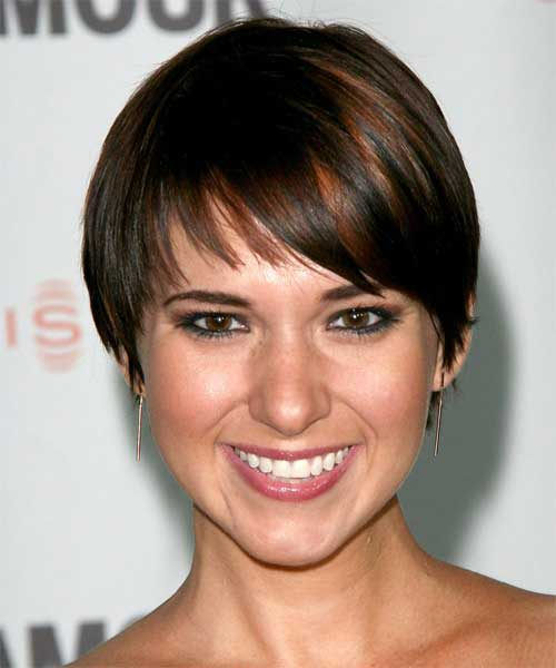 Celebrity short straight hairstyles