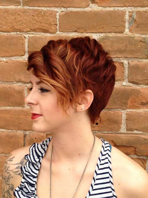Curly pixie hairstyles