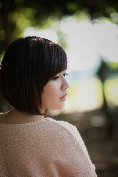 Cute Asian hairstyles for short hair
