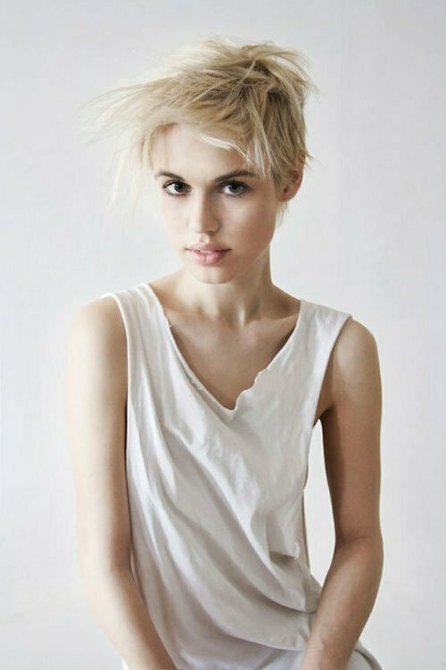 Magnificent 20 Blonde Hairstyles For Short Hair Short Hairstyles 2016 2017 Hairstyles For Women Draintrainus