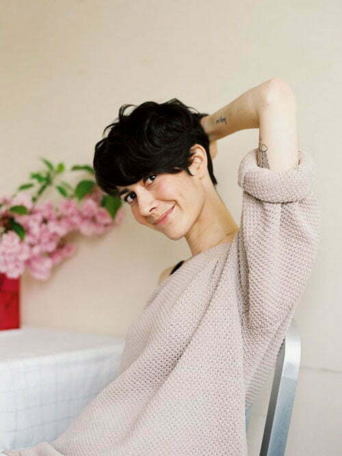 Fine Cute And Easy Short Hairstyles Short Hairstyles 2016 2017 Hairstyles For Women Draintrainus