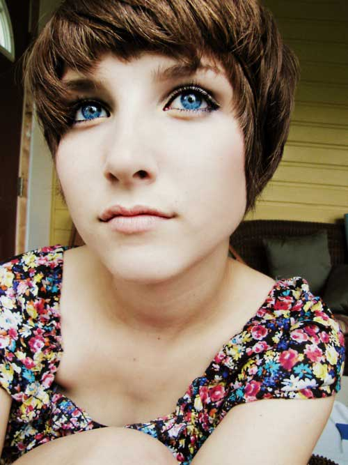 Cute pixie short haircuts 2013