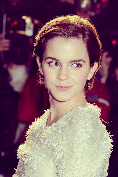 Emma Watson short hair styles