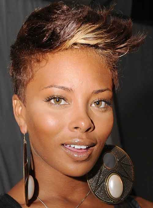 Eva Pigford short haircuts