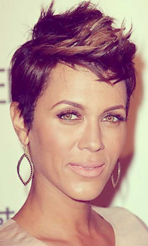 Ladies Hairstyles short hairstyles haircuts older ladies Faux Hawk Hairstyles For Black Women