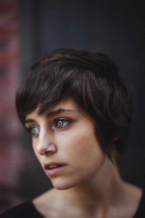 Images of short layered hairstyles