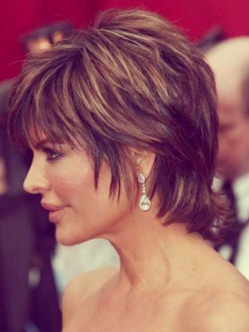 Picture of Lisa Rinna Haircut Hairstyles for Short Hair