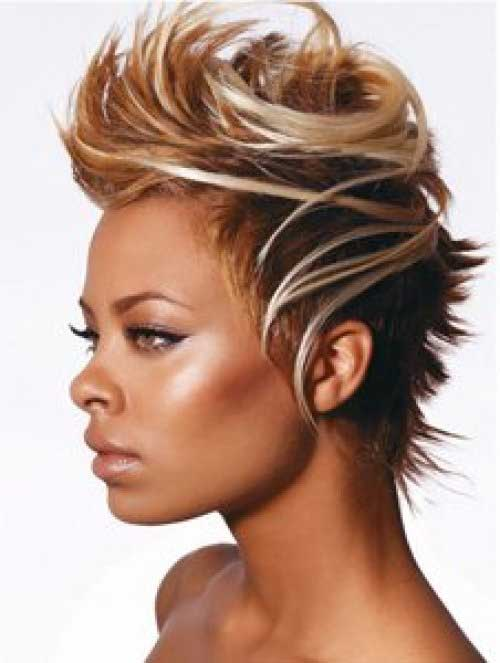 Mary J Blige short hairstyle