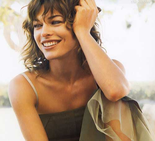 Celebrity short curly hairstyles 2013