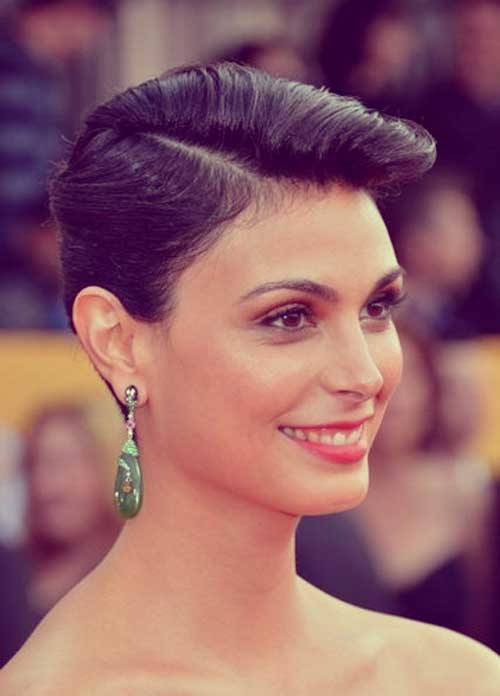 Morena Baccarin short haircut