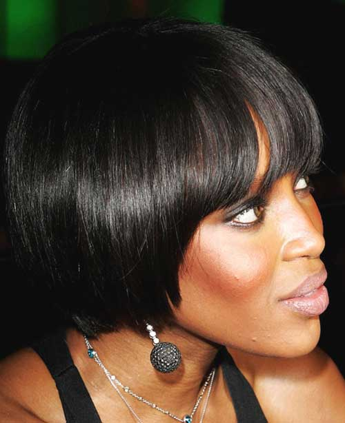 Celebrity short haircuts with bangs