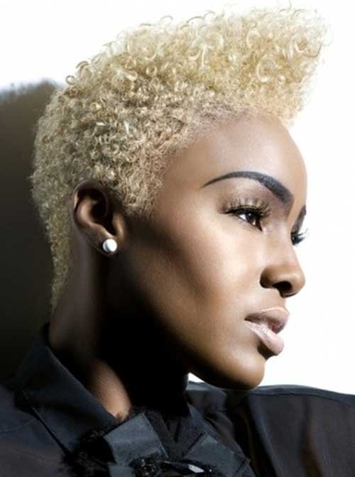 Pictures of Short Hair for Black Women-1