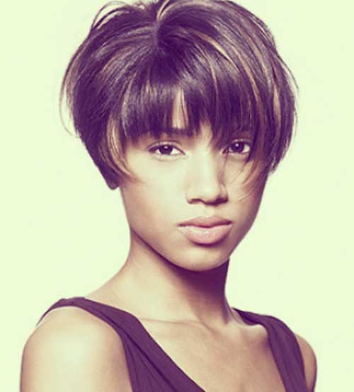 Pictures of Short Hair for Black Women-11