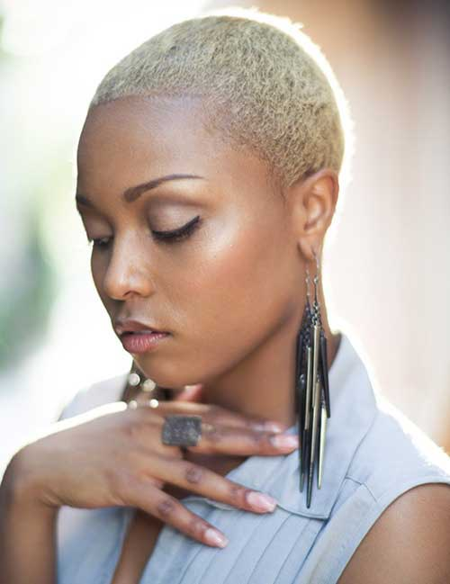 Pictures of Short Hair for Black Women-12